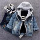 parka docking denim jacket