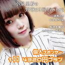 【4月分】小泉里紗の野球は9回2アウトから  個人スポンサー1口4320円