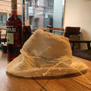 Abaca  Wide  Brim  Hat/Off  White