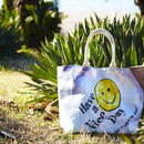 "Reversible Tote Bag ""Smileyface"""