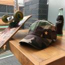 Twill Cap/Camo Green