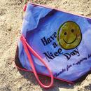 "Neoprene Clutch Bag ""Smileyface"""