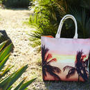 """Reversible Tote Bag """"Palmtrees"""""""