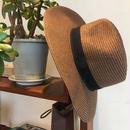 Paper Braid Hat/Brown