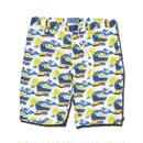 FLYING FUTURE TRAIN ALOHA SHORT PANTS
