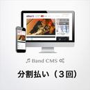 BandCMSシステム利用料金分割払い(3回払い)