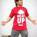 【再販】HEAT-UP⇧Tシャツ【赤×白】