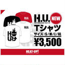 【残りわずか】H.U.  Tシャツ【白】