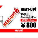 【NEW】アクリルキーホルダー【ロゴ+ヒートくん】