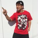 【ラスト1枚】HEAT-UPフォトTシャツ【レッド】