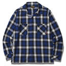 OMBRE CHECK SHIRT BLUE #6307