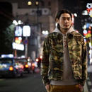 COTTON TWILL WORK JACKET CAMO