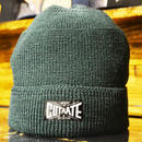 WOOL KINT CAP GREEN