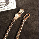 RMS CHAIN NECKLACE SILVER[BUS]