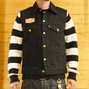 DENIM VEST BLACK