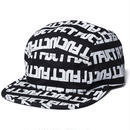 FUCT SSDD EDGE LOGO CAMP CAP BLACK #48907