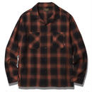 OMBRE CHECK SHIRT RED #6307