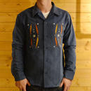 NATIVE CORDUROY SHIRTS BLUE