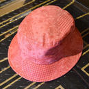 PAISLY ALLOVER BACKET HAT RED