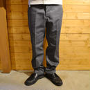 T/C TWILL CHINO PANTS GRAY