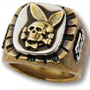 FUCT SSDD DEATH BUNNY RING  #41413