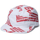 FUCT SSDD OUR PLEASURE CAMP CAP WHITE #48905