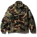 FUCT SSDD ZIP UP FLEECE JACKET CAMO #41701