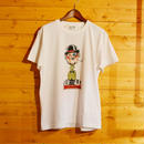 JUNK B/B AIR BRUSH TEE WHITE[#34]