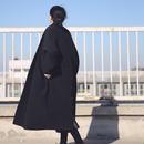 emboss long coat