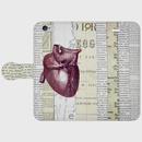 『晋三(心臓)』手帳型スマホケース 全機種対応