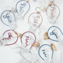 Arty Wire Pierced Earrings 2016 FW collection - yes no bulbs / PIERCE