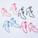 Arty Wire Pierced Earrings - hate heels