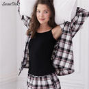 Plaid Cotton Classic Pajama