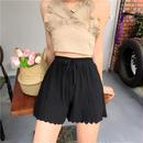Elastic Herringbone Shorts