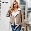 Suede Jacket Coat