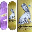 ANTI HERO JULIEN STRANGER IDIOMS DECK  (8.5 x 31.8inch)