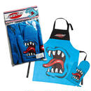 SANTA CRUZ PHILLIPS HAND BBQ APRON WITH MITT