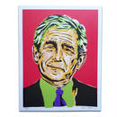 LOST HIGHWAY PRESIDENT SERIES  GEORGE BUSH POSTER