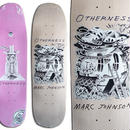 OTHERNESS MARC JOHNSON BY DERRICK SNODGRASS DECK (8.75 x 31.7inch)