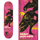 KROOKED SEBO WALKER HAWAIIAN MYSTICK DECK  (8.12 x 31.38inch)