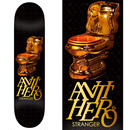 ANTI HERO JULIEN STRANGER GOLD COMMODE DECK  (8.18 x 31.85inch)
