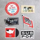 SUB POP / サブポップ / STICKER PACK / PATTERN