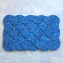 Infinity Coir Mat / 40cm×60cm / blue