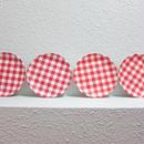 Melamine Gingham Plates
