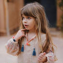 Louise Misha / BLOUSE NYA - BEIGE 4Y
