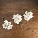 antique silk brooch