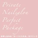 プライベートネイルサロンパーフェクトパッケージ
