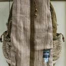 ヒマラヤンヘンプとネトルのライダースリュック ミロバラングリーン
