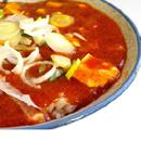 【豚バラ、タケノコ】『ファイヤー特製肉辛太』辛7