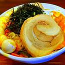 【辛さ2倍】『ファイヤーまぜそば(たけのこマシ)』【麺2玉、チャーシュー、ウズラ、煮込み野菜】9辛